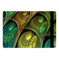 Psytrance Abstract Colored Pattern Feather Apple Ipad Pro 10 5   Flip Case