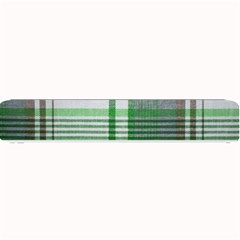 Plaid Fabric Texture Brown And Green Small Bar Mats