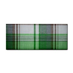 Plaid Fabric Texture Brown And Green Cosmetic Storage Cases