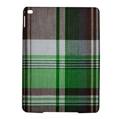Plaid Fabric Texture Brown And Green Ipad Air 2 Hardshell Cases