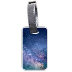 Galaxy Nebula Astro Stars Space Luggage Tags (two Sides)