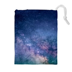 Galaxy Nebula Astro Stars Space Drawstring Pouches (extra Large)