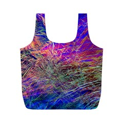 Poetic Cosmos Of The Breath Full Print Recycle Bags (m)