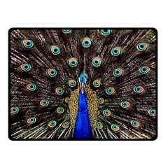 Peacock Fleece Blanket (small)