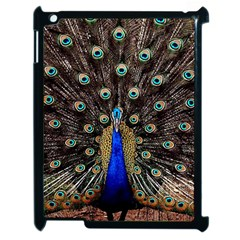 Peacock Apple Ipad 2 Case (black)