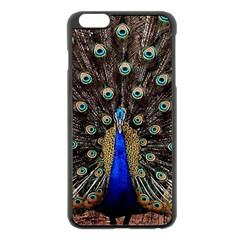 Peacock Apple Iphone 6 Plus/6s Plus Black Enamel Case
