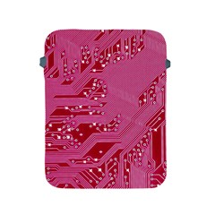 Pink Circuit Pattern Apple Ipad 2/3/4 Protective Soft Cases