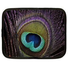 Peacock Feather Netbook Case (xl)