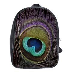 Peacock Feather School Bags(large)
