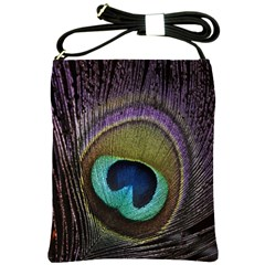 Peacock Feather Shoulder Sling Bags