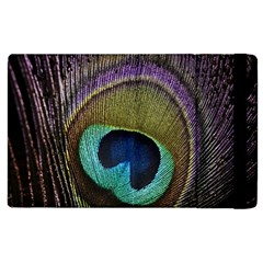 Peacock Feather Apple Ipad 3/4 Flip Case