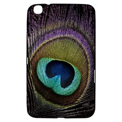 Peacock Feather Samsung Galaxy Tab 3 (8 ) T3100 Hardshell Case