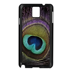 Peacock Feather Samsung Galaxy Note 3 N9005 Case (black)