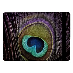 Peacock Feather Samsung Galaxy Tab Pro 12 2  Flip Case