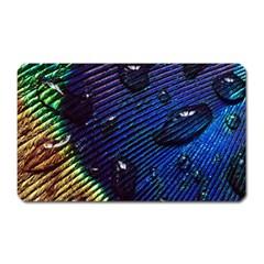 Peacock Feather Retina Mac Magnet (rectangular)