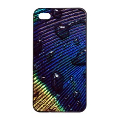 Peacock Feather Retina Mac Apple Iphone 4/4s Seamless Case (black)