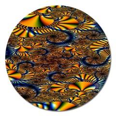 Pattern Bright Magnet 5  (round)