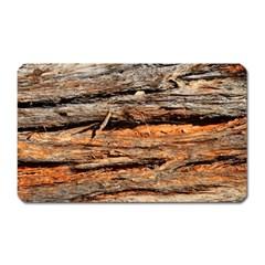 Natural Wood Texture Magnet (rectangular)