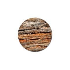 Natural Wood Texture Golf Ball Marker