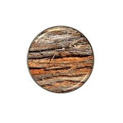 Natural Wood Texture Hat Clip Ball Marker
