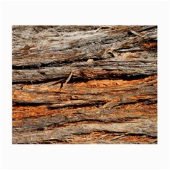 Natural Wood Texture Small Glasses Cloth (2 Side)
