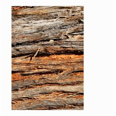 Natural Wood Texture Small Garden Flag (two Sides)