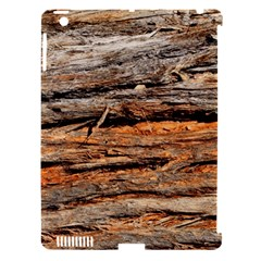 Natural Wood Texture Apple Ipad 3/4 Hardshell Case (compatible With Smart Cover)