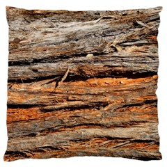 Natural Wood Texture Large Cushion Case (two Sides)
