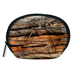 Natural Wood Texture Accessory Pouches (medium)