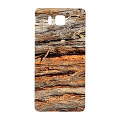 Natural Wood Texture Samsung Galaxy Alpha Hardshell Back Case