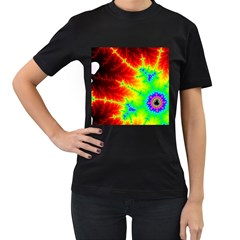 Misc Fractals Women s T Shirt (black)