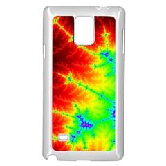 Misc Fractals Samsung Galaxy Note 4 Case (white)