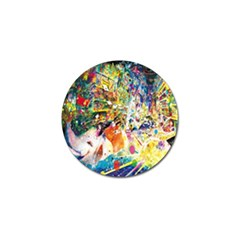 Multicolor Anime Colors Colorful Golf Ball Marker (10 Pack)