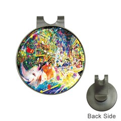 Multicolor Anime Colors Colorful Hat Clips With Golf Markers