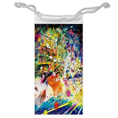 Multicolor Anime Colors Colorful Jewelry Bag
