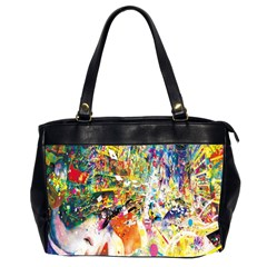 Multicolor Anime Colors Colorful Office Handbags (2 Sides)