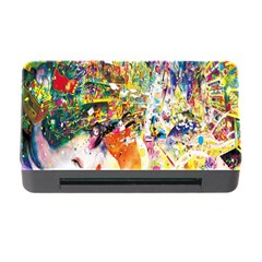 Multicolor Anime Colors Colorful Memory Card Reader With Cf