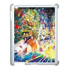Multicolor Anime Colors Colorful Apple Ipad 3/4 Case (white)