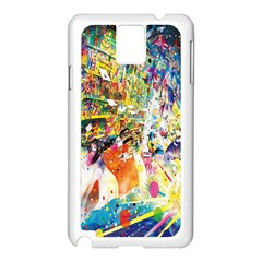 Multicolor Anime Colors Colorful Samsung Galaxy Note 3 N9005 Case (white)