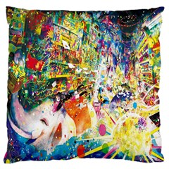Multicolor Anime Colors Colorful Standard Flano Cushion Case (two Sides)