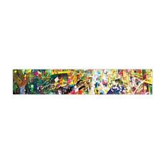 Multicolor Anime Colors Colorful Flano Scarf (mini)
