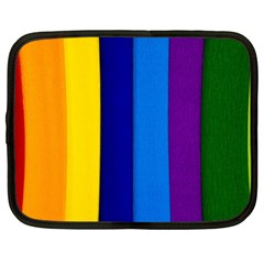 Paper Rainbow Colorful Colors Netbook Case (large)