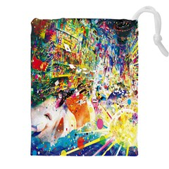 Multicolor Anime Colors Colorful Drawstring Pouches (xxl)