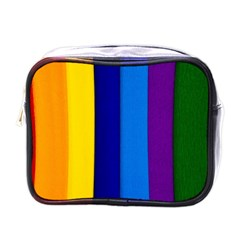 Paper Rainbow Colorful Colors Mini Toiletries Bags