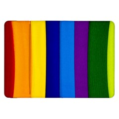 Paper Rainbow Colorful Colors Samsung Galaxy Tab 8 9  P7300 Flip Case