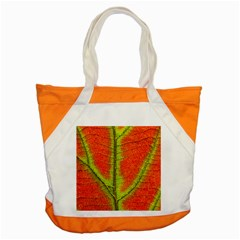 Nature Leaves Accent Tote Bag