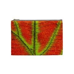 Nature Leaves Cosmetic Bag (medium)