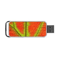 Nature Leaves Portable Usb Flash (two Sides)