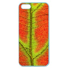 Nature Leaves Apple Seamless Iphone 5 Case (color)