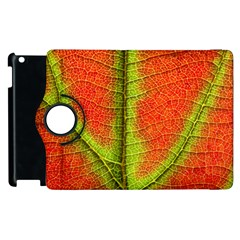 Nature Leaves Apple Ipad 2 Flip 360 Case